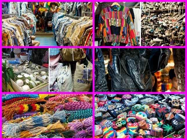 Bangkok bit pazarları