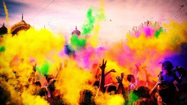 Hindistan'ın Rengarenk Festivalleri